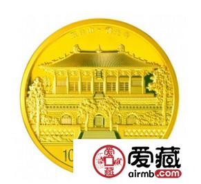 2012年五台山5盎司金币艺术价值高