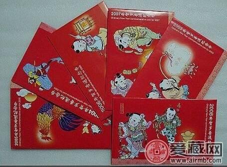 送禮佳品之鼠年紀念幣卡幣