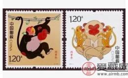 2016年生肖猴郵票適合長期收藏