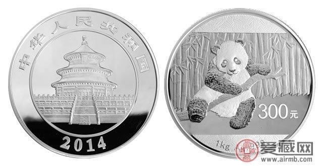 熊貓一公斤銀幣深受大家青睞