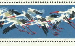 白鹤小型张邮票赏析