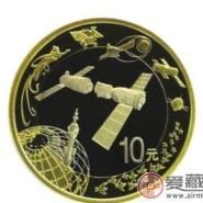 中国载人航天纪念币分析