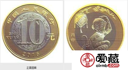 猴年纪念币价格