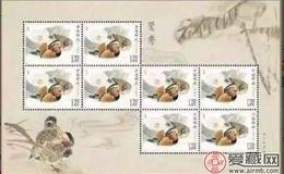 小版张邮票价格同样处于上升状态