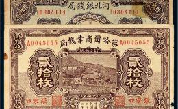 民国地方纸币