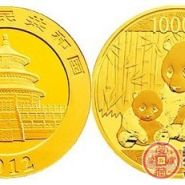 热门收藏熊猫纪念币