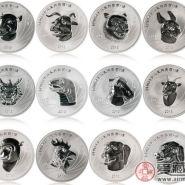 十二生肖兽首银币收藏价值极高