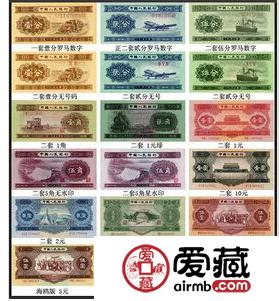 分析第二套人民币全套多少钱