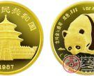 1987年版1/4盎司熊猫金币