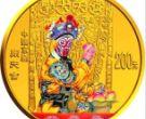 2002年中国京剧艺术第4组闹天宫金币投资价值怎么样