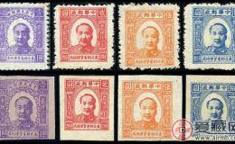 J.DB-32 第一版毛泽东像邮票
