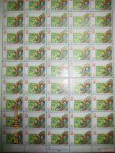 2000年澳门生肖龙整版邮票的收藏价值