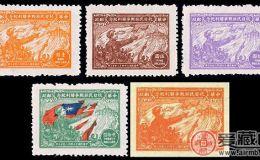 J.HD-4 华东战时邮务总站抗日民族战争胜利纪念邮票