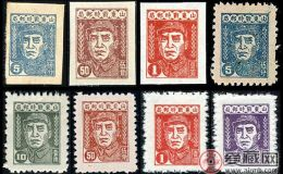J.HD-5 华东战时邮务总站第二版朱德像邮票