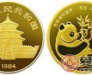 1984年版1/10盎司熊猫金币