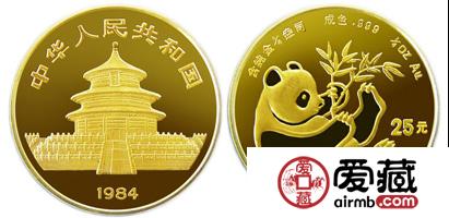 1984年版1/4盎司熊猫激情乱伦