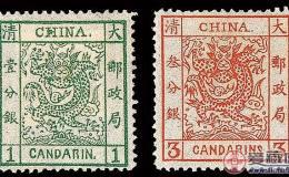 大龙邮票的价格很高