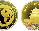 1983年版1/10盎司熊猫金币