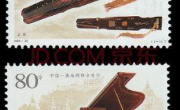 2006-22古琴与钢琴大版票的文化韵味