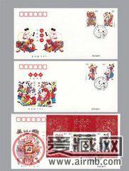 2005-4T《杨家埠木版年画》特种邮票小全张
