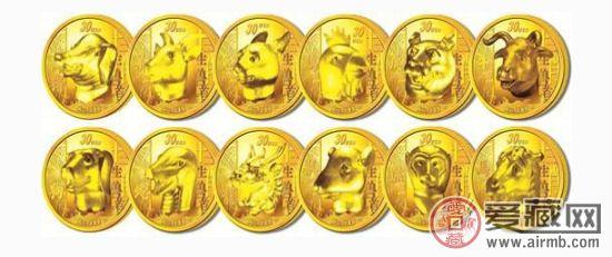 十二生肖金银币兼具收藏和欣赏价值
