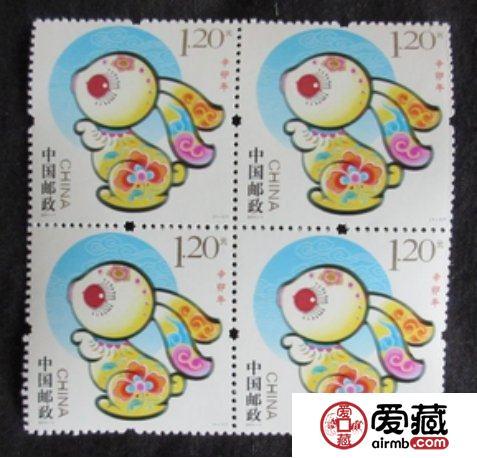 2011-1生肖兔大版邮票价值会越来越高