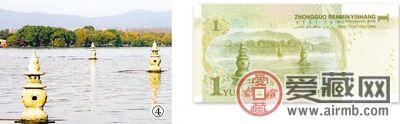 人民币上的风景 第五套人民币上的风景 你去过多少钱了?