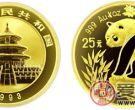 1993年版1/4盎司熊猫金币