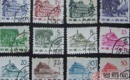 普11 革命圣地图案普通邮票(第一版)收藏