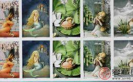 HK S142 儿童邮票--安徒生童话