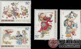 2003-2楊柳青木版年畫小版票