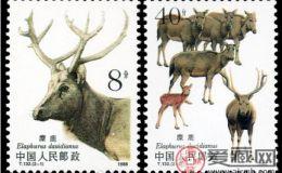 T132麋鹿(有齿)邮票的收藏价值分析