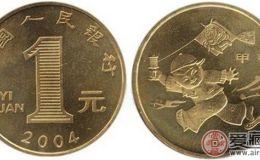 2004年猴年流通纪念币价高能赚钱