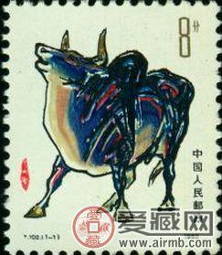 T102 乙丑年(牛票)将牛的形象展现出来