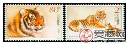 华南虎小版邮票市场价值分析
