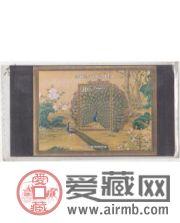 分析台湾邮票孔雀开屏图小型张价格