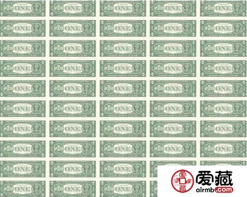 一美元50连体1美元50连体钞发行价格