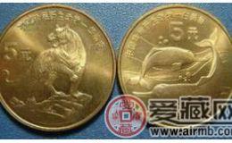 珍稀野生动物―白鳍豚、华南虎纪念币切勿错过
