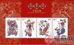 杨家埠木板年画版式二小版的收藏价值