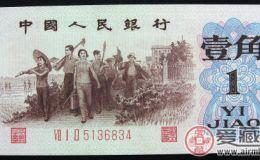 激情电影第三版人民币一角背绿水印应注意防伪