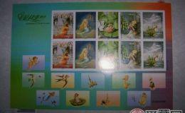 收藏分析安徒生不干胶小版邮票