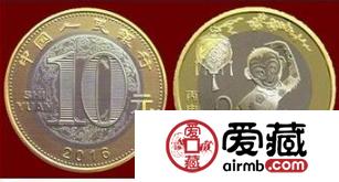 猴年流通币收藏分析