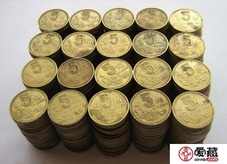 继菊花一角之后,梅花五角也只收不付!硬币时代的来临?