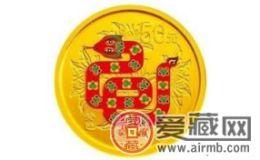 2013年蛇年彩金币