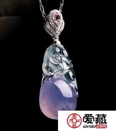 紫罗兰翡翠