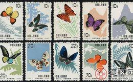 特56 蝴蝶邮票界的潜力股