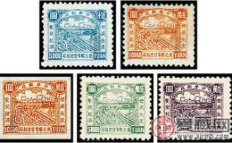 J.DB-63 生产图邮票