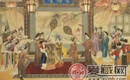中国工笔画大展开幕 邮票原作吸人眼球
