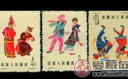 特55 中国民间舞蹈(第三组)邮票收藏须知