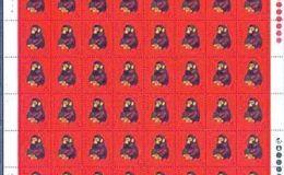 收购1980年猴票整版邮票市场火热的背后